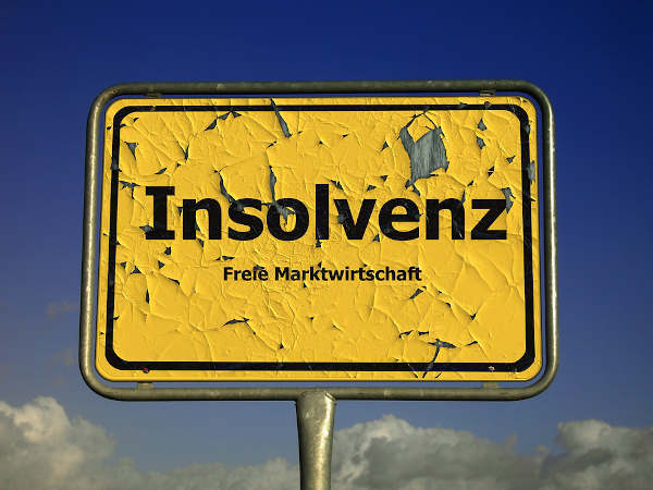 Major insolvencies in the US and Western Europe